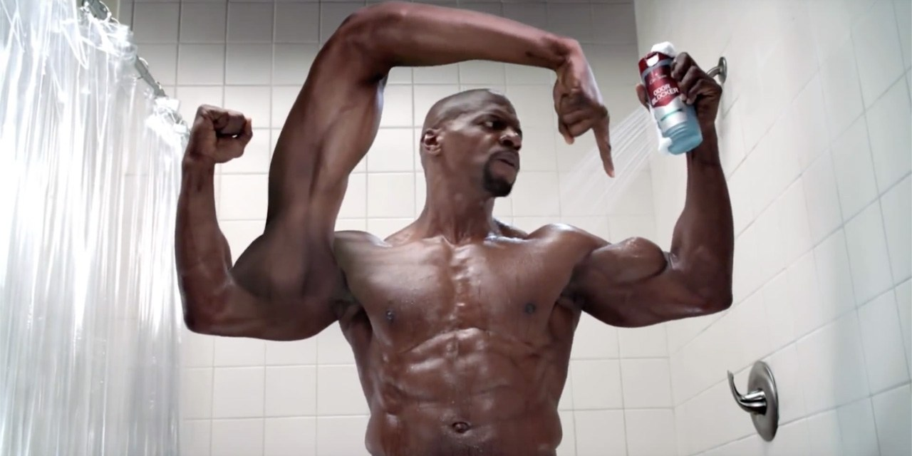 Terry Crews Muscle Power